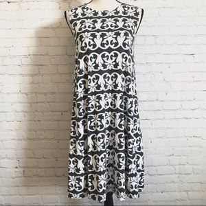 4/$25 LOFT Vineyard Stripe Swing Dress